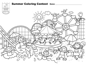 Summer Coloring Contest - My CMSMy CMS